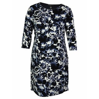 INC International Concepts Women's Tiered Floral Print Dress