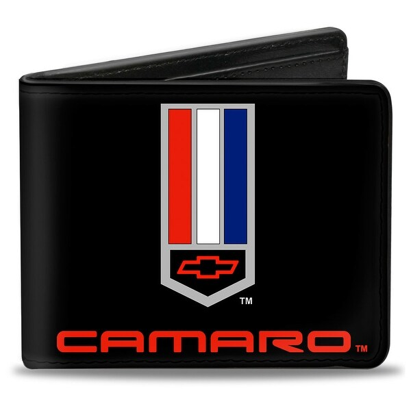 Camaro Badge Logo Centered Bi Fold Wallet - One Size Fits most