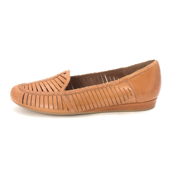 Cobb Hill Womens Galway Leather Almond Toe Loafers