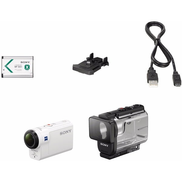 Sony HDR-AS300R HD Action Cam with LiveView Remote