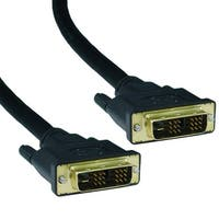 Offex DVI-D Single Link Cable, DVI-D Male, 25 foot