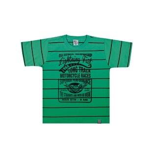 Boys T-Shirt Kids Striped Tee Pulla Bulla Sizes 2-10 Years