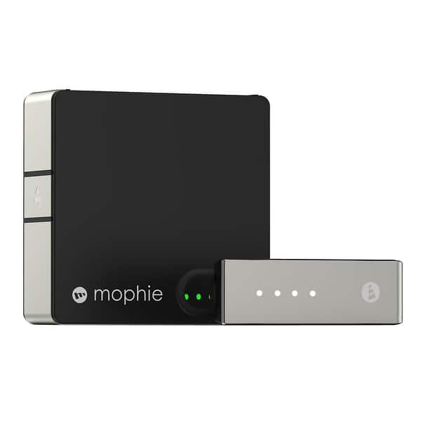 Shop Mophie Powerblu Bluetooth Headset For Iphone Android Black Overstock 17526261