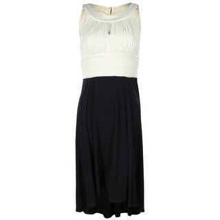 Sangria Women's Keyhole Colorblocked Jersey Dress - 6