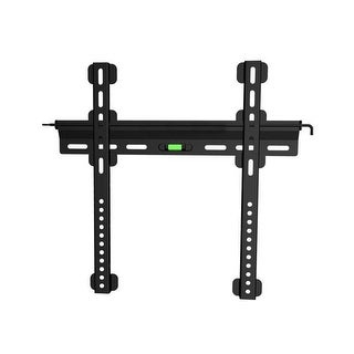 Ultra-Slim Fixed Wall Mount Bracket for 32~55in TVs up to 121 lbs, Black
