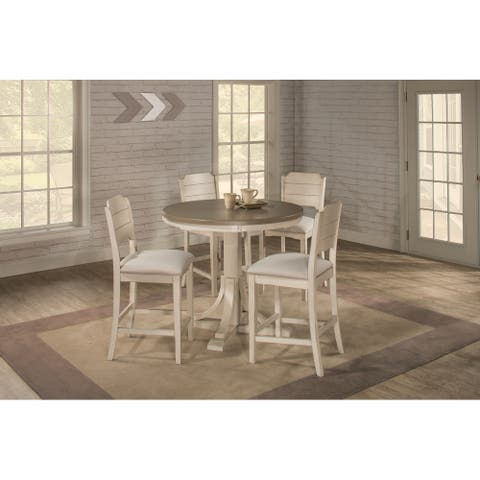 The Gray Barn Steeplechase 5-piece Round Counter Height Dining Set