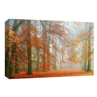 """PTM Images 9-147978  PTM Canvas Collection 8"""" x 10"""" - """"Autumn Mist"""" Giclee Forests Art Print on Canvas"""