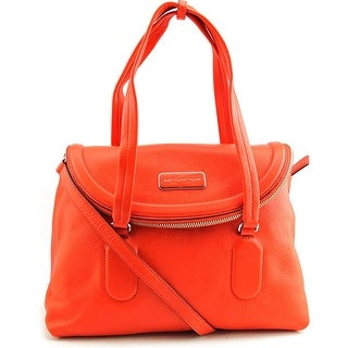 Marc By Marc Jacobs Silicone Valley Satchel Leather Satchel NWT - Orange