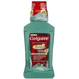 Colgate Total Advanced Pro-Shield Mouthwash Spearmint Surge 8.4 oz