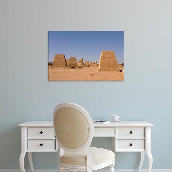 Easy Art Prints Sergio Pitamitz's 'The Tombs Of Garamantes' Premium Canvas Art