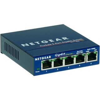 Netgear NET-GS105NAM 5 Port Gigabit Desktop Switch