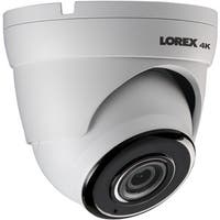 Lorex(R) LKE383A 4K 8.0-Megapixel Ultra HD IP Dome Camera with Audio