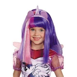 Disguise Twilight Sparkle Child Wig - Purple