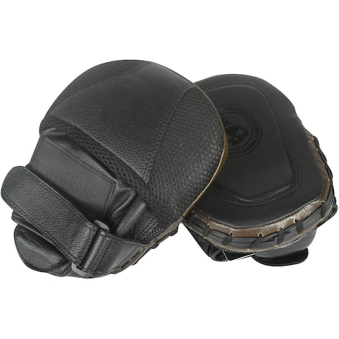 Superare Mini Boxing Focus Punch Mitts - Brown/Black - One Size
