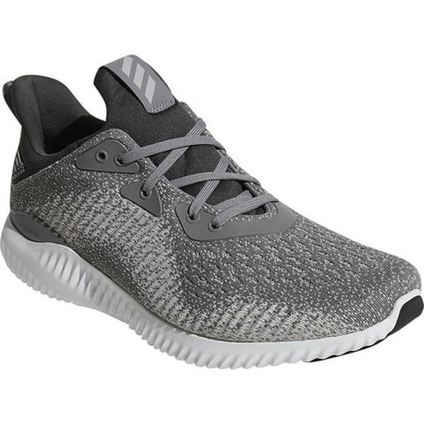 a0075cfb9 Shop adidas Men s AlphaBOUNCE EM Running Shoe Grey Grey Solid Grey ...