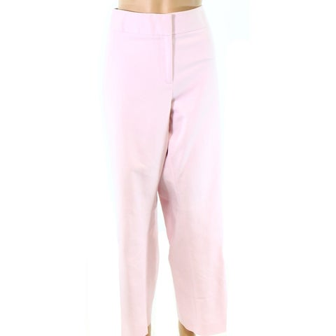 Vince Camuto Rose Pink Womens Size 22W Plus Solid Dress Pants