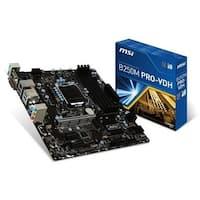 MSI USA B250M Desktop Motherboard Desktop Motherboard