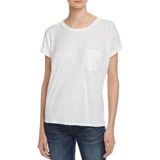 Velvet Womens T-Shirt Basic Modal Blend - xs