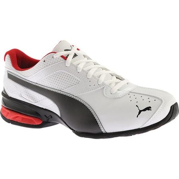 8490c9e99a7f65 Shop PUMA Men s Tazon 6 FM Sneaker Puma White Puma Black Puma Silver ...