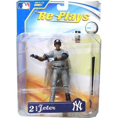 "Major League Baseball 4"" Action Figure Derek Jeter Away Jersey - multi"