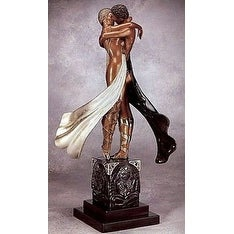 Lovers & Idol (Bronze), Ltd Ed, Erté