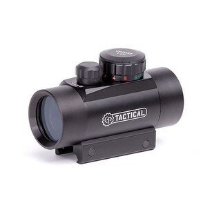 Center point 72601 centerpoint 30mm enclosed reflex sight 5 moa red/ green dot fits picatinny mount