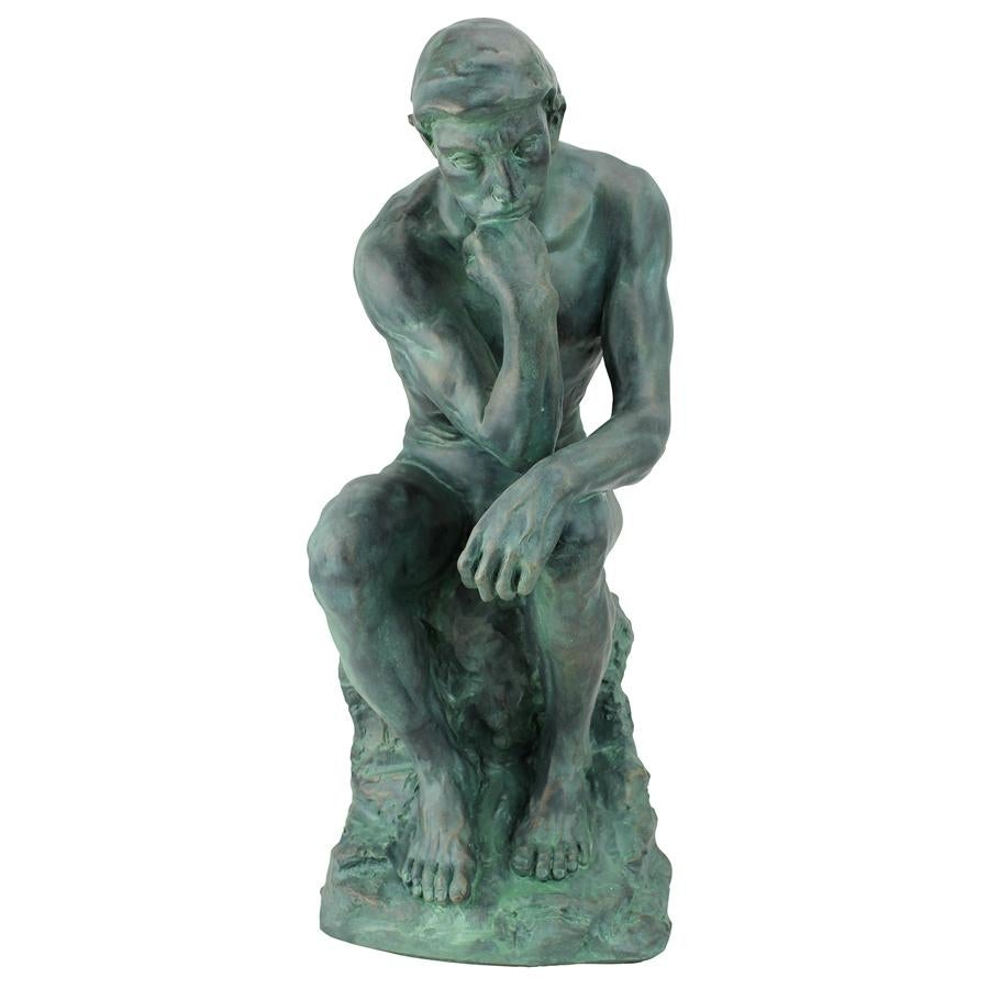Thinker >> Shop Design Toscano Rodin S Thinker Statue Large On Sale Free