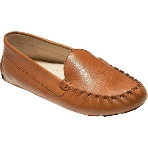 Cole Haan Women's Evelyn Driver Pecan Leather