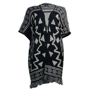 Style & Co. Women's Cozy Aztec Print Cardigan Sweater