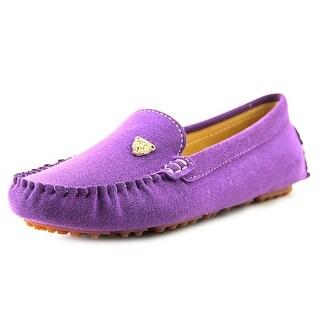 SunRoLan 803 Women Moc Toe Synthetic Loafer