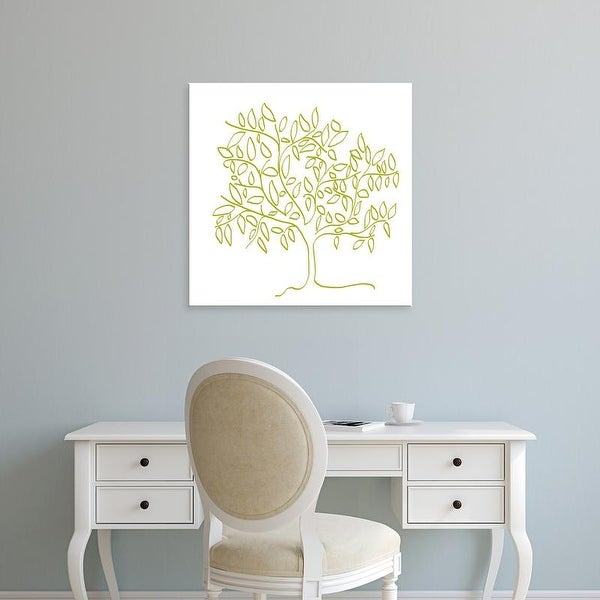 Easy Art Prints Jan Weiss's 'A Citron Tree' Premium Canvas Art