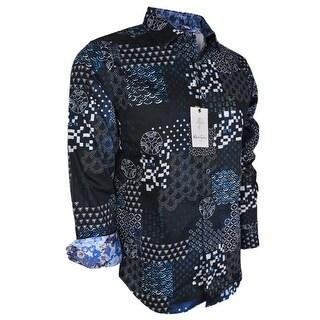 Robert Graham Men's YARDMAN Classic Woven Button Down Sports Dress Shirt