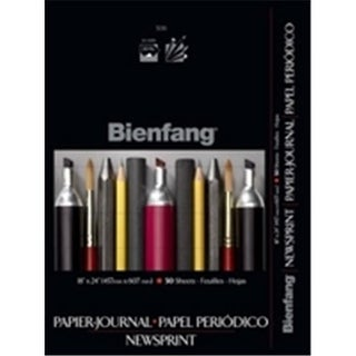 Speedball Bienfang Newsprint Pads, 24 X 36 In., 50 Sheets