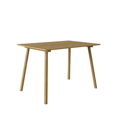 Carson Carrington Devino Mid Century Modern Rectangular Table