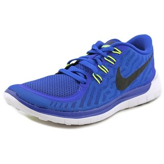 Nike Free 5.0 Round Toe Synthetic Running Shoe