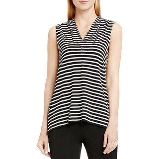 Vince Camuto Womens Casual Top V-Neck Striped (2 options available)