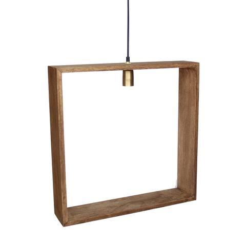 Solis Wooden Pendant