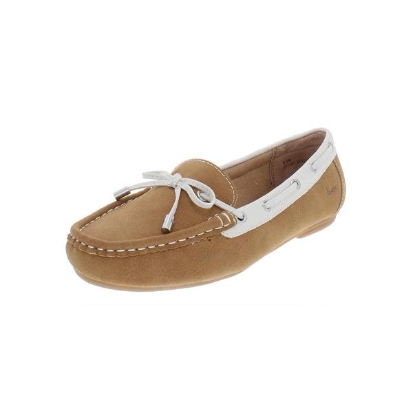 fa405e59c13a Shop B.O.C. Born Concepts Womens Carolann Boat Shoes Faux Leather Slip-On -  6.5 Medium (B