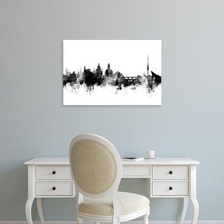 Easy Art Prints Michael Tompsett's 'Dresden Germany Skyline' Premium Canvas Art