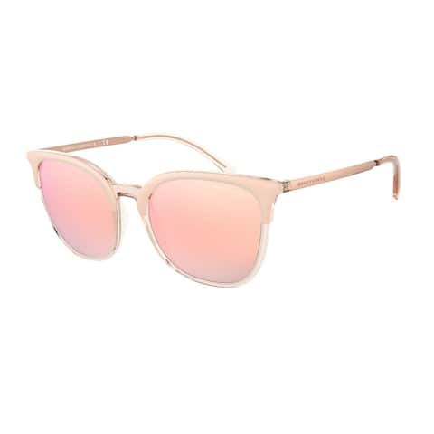 Armani Exchange AX4091S 83006F 54 Transparent Light Rose/rose Go Woman Pillow Sunglasses