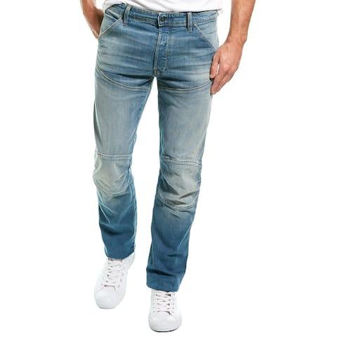 G-Star Raw Elwood Antic Faded Royal Blue Straight Leg