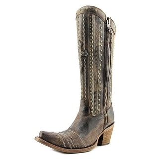 Corral C2925 Women Pointed Toe Leather Brown Western Boot