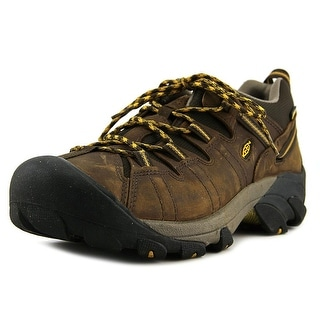 Keen Targhee II Men W Round Toe Leather Brown Hiking Shoe