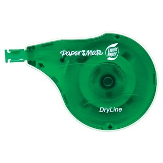 Paper Mate Liquid Paper DryLine Correction Tape, Pack of 2