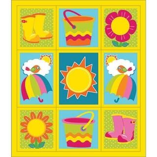 Hello Spring Stickers Grades Pk-5