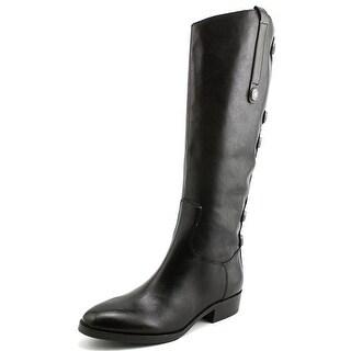 Arturo Chiang Enchante Women  Round Toe Leather  Knee High Boot