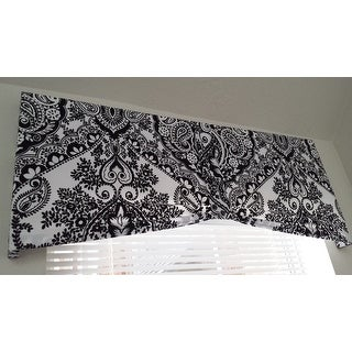 Lush Decor Aubree Black/ White Shower Curtain