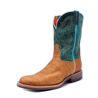 Dan Post DP4535 Men EW Round Toe Leather Multi Color Western Boot