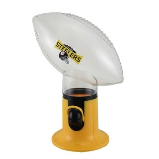 NFL Pittsburgh Steelers Officially Licensed Football Shaped Candy Dispenser - Yellow