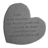 Kay Berry 08604 Great Thought Hearts- Softly in the morning...